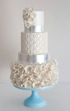 winter-wedding-cake-wedding-cakes-pinterest
