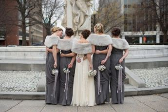 winter-wedding-grey-bridesmaids